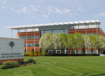 Donald Danforth Plant Science Center front of building