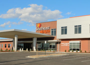 Southeast Health Center of Stoddard County front of building