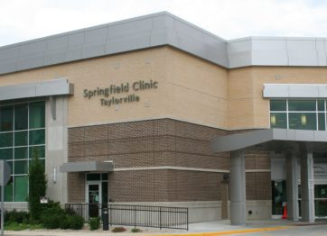 Springfield Clinic - Taylorville front of building